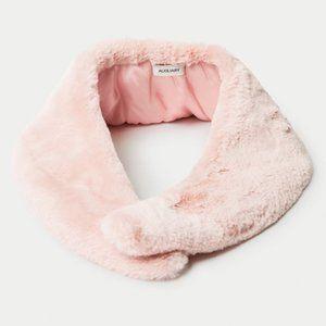 ✨ BNWT Auxiliary Blush Pink Faux Fur Shawl